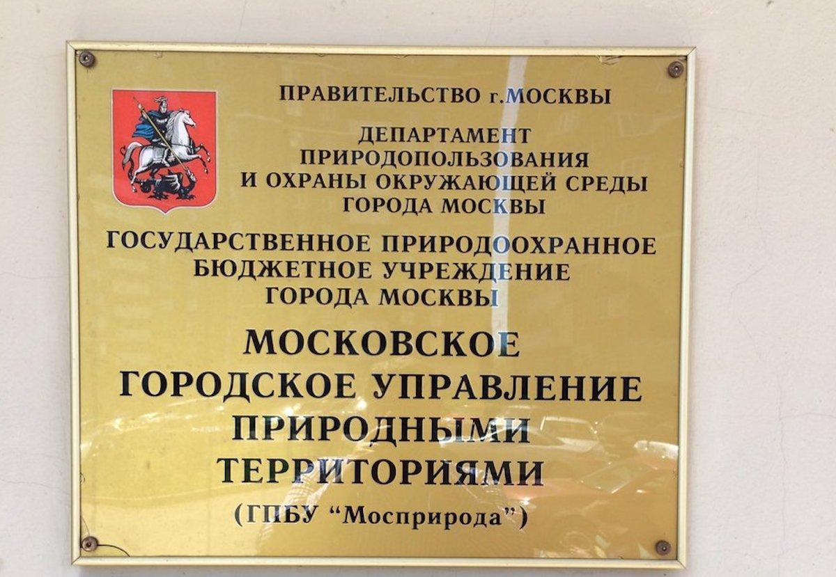 «Мосприрода» в очередной раз подтвердила факт вырубки зеленых насаждений в «Долине реки Очаковки»