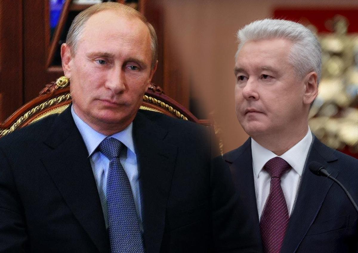 Путина попросили отправить в отставку мэра Москвы