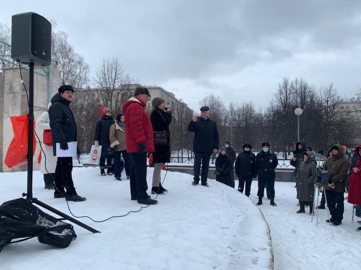 Жители Гагаринского района призвали сохранить исторический Дворец пионеров на Воробьёвых горах