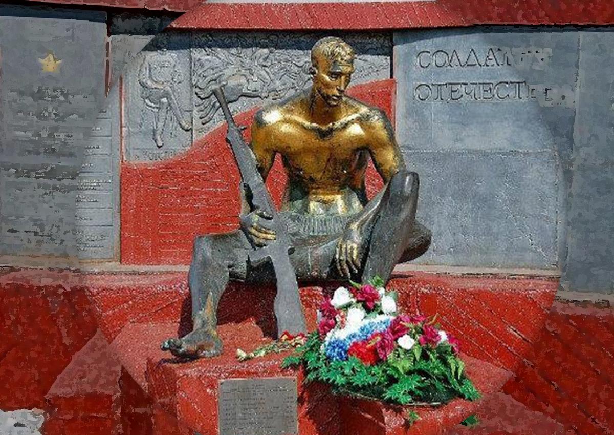 В Марьино после реконструкции открыли памятник «Солдату Отечества XX века»