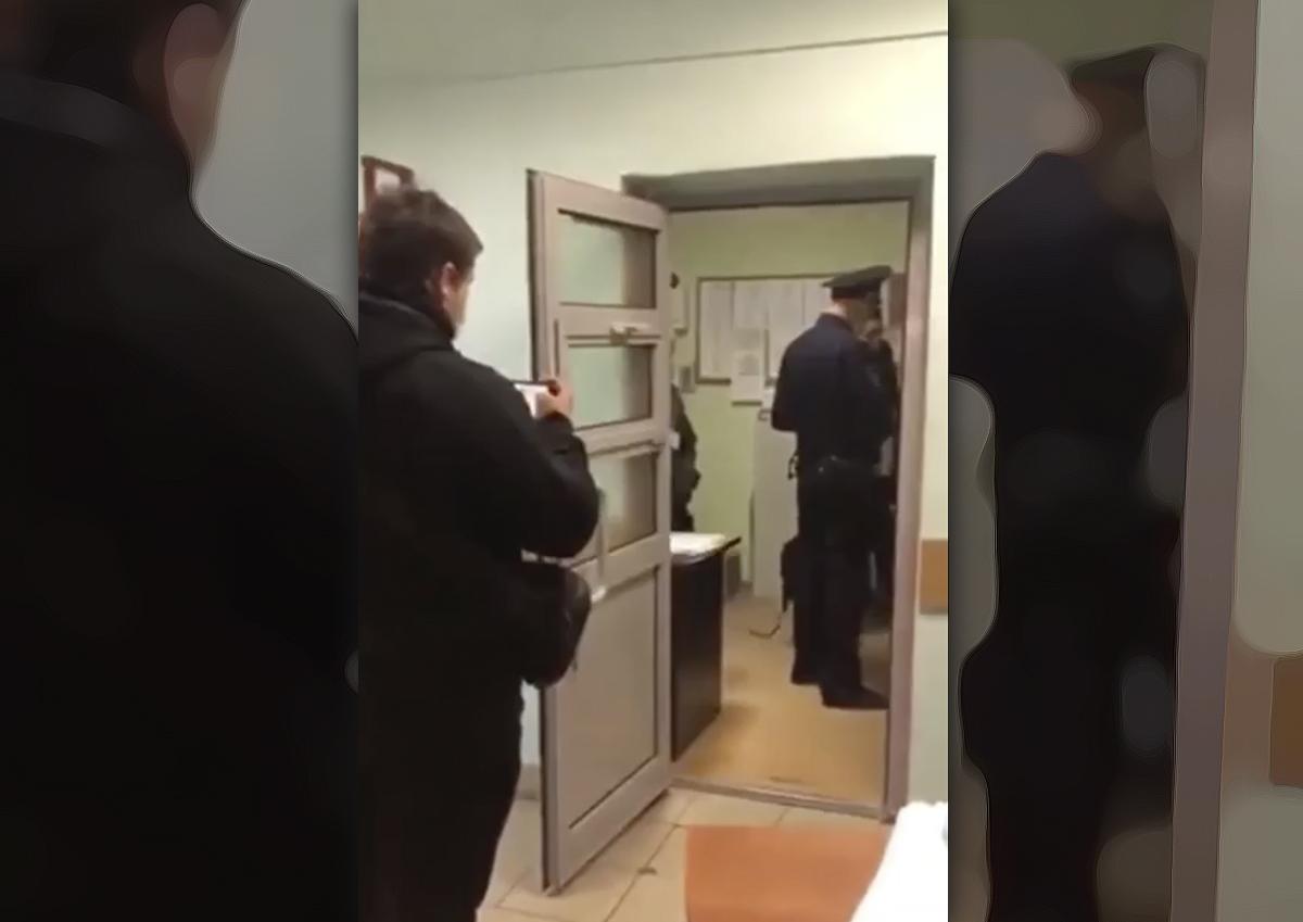 Наблюдателя от Удальцовой задержала полиция