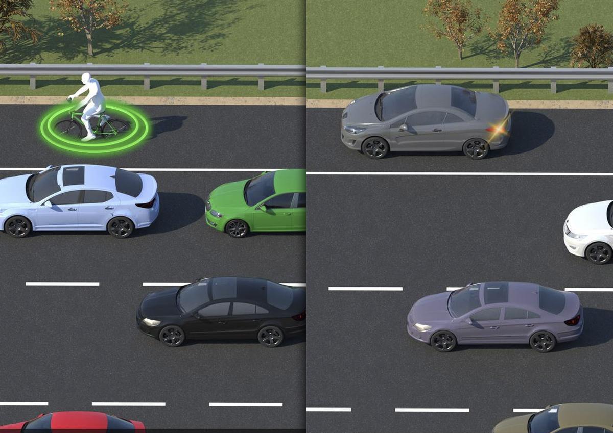 В Москве увеличилось число парконов, фиксирующих проезд по обочине на МКАД